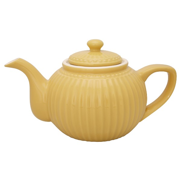 "Τσαγιέρα ""Teapot Alice Honey Mustard"" Greengate"